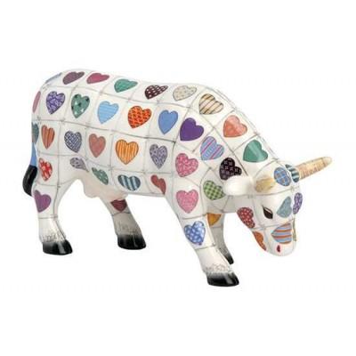 Figurina vacuta CowParade Cali Cow M - ceramica