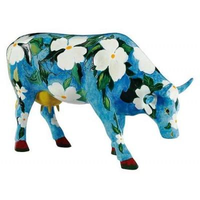 Figurina vacuta CowParade Cowalina Dogwood L
