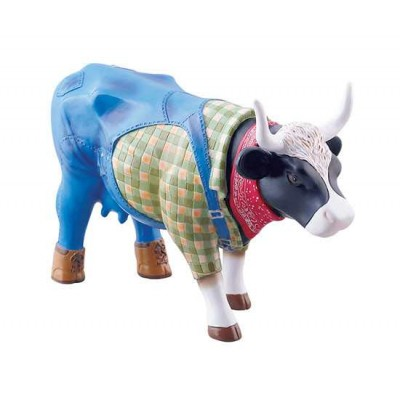 Figurina vacuta CowParade Farmer Cow M