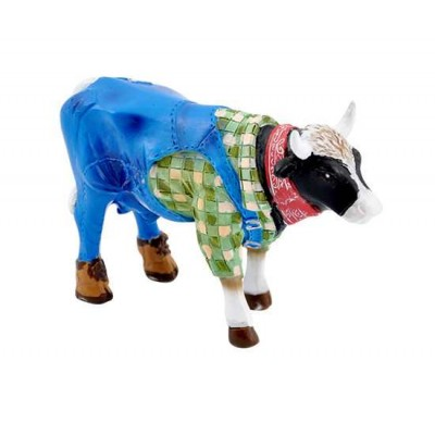 Figurina vacuta CowParade Farmer Cow S