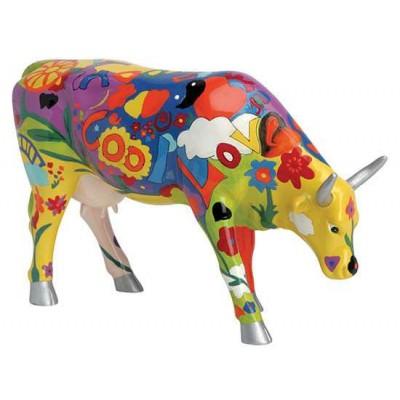 Figurina vacuta CowParade Groovy Moo L