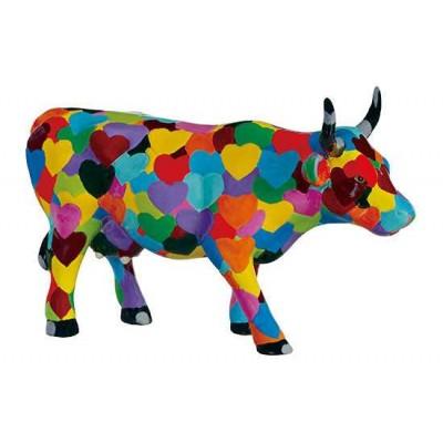 Figurina vacuta CowParade Heartstanding Cow M