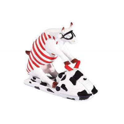 Figurina vacuta CowParade Jet Ski Cow S