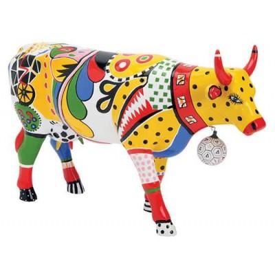 Figurina vacuta CowParade Kick L