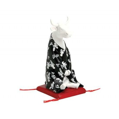 Figurina vacuta CowParade Meditating Cow M