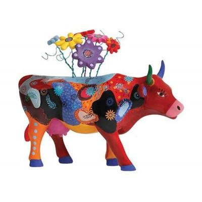 Figurina vacuta CowParade Mooquet M