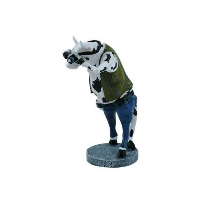 Figurina vacuta CowParade Paparazzi S