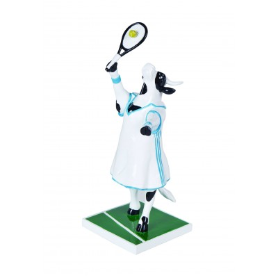 Figurina vacuta CowParade Tennis Cow M