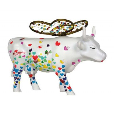 Figurina vacuta CowParade Wings of Love M