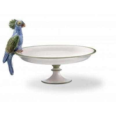 Fructiera / suport prajituri Oman papagal