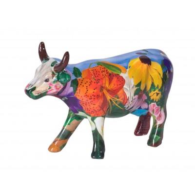Figurina vacuta CowParade Georgia O Kowffe M - ceramica