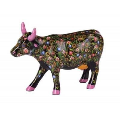 Figurina vacuta CowParade Flower Power Cow M - ceramica