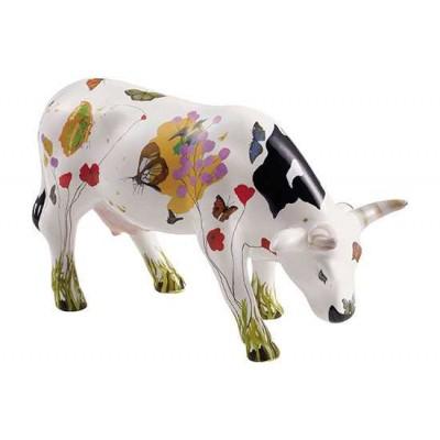 Figurina vacuta CowParade Ramona M - ceramica
